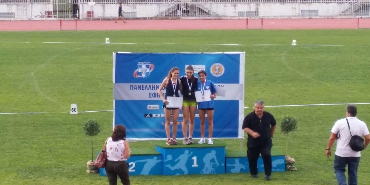 Χάλκινο μετάλλιο στα 3.000 μ. Νεανίδων για την Λαβασά Δάφνη στο Πανελλήνιο Πρωτάθλημα στα Τρίκαλα