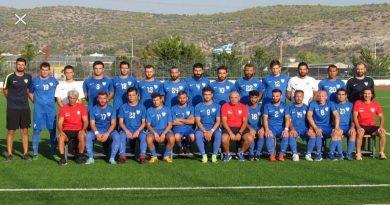 8η Αγωνιστική της Αντρικής ομάδας Ποδοσφαίρου