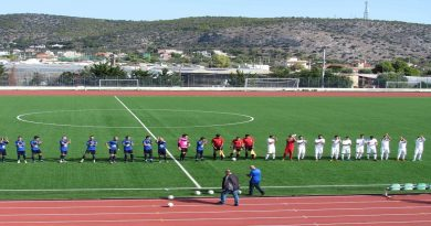 3η Αγωνιστική της αντρικής ομάδας ποδοσφαίρου