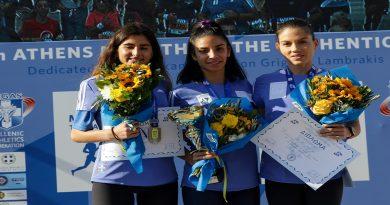 2η η αθλήτρια μας Λαβασά Δάφνη-Ευτυχία στα 5.000 μ Γυναικών