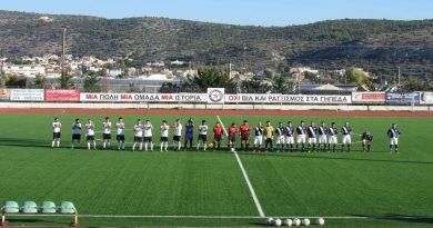 12η Αγωνιστική της Αντρικής ομάδας Ποδοσφαίρου
