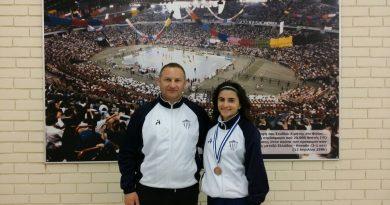 3η στο Πανελλήνιο Πρωτάθλημα κλειστού στίβου η Λαβασά Δάφνη