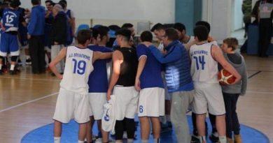 15 έως 18η Αγωνιστική Εφηβικού τμήματος Μπάσκετ