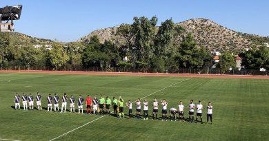 4η Αγωνιστική της Αντρικής ομάδας Ποδοσφαίρου