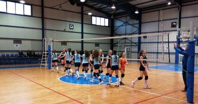 3η Αγωνιστική πρωτάθλημα Κοριτσιών Κ-16 Βόλεϊ